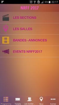 Nouveaux Regards Film festival poster