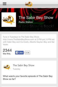 The Sabir Bey Show screenshot 3