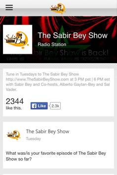 The Sabir Bey Show apk screenshot