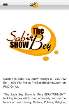 The Sabir Bey Show screenshot 4