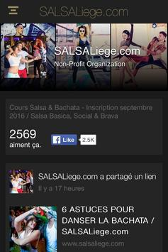SALSALiege.com apk screenshot