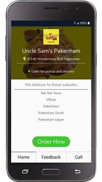 Uncle Sams - Pakenham screenshot 1