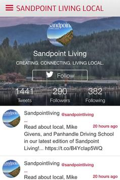 Sandpoint Living Local screenshot 1