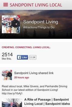 Sandpoint Living Local screenshot 2
