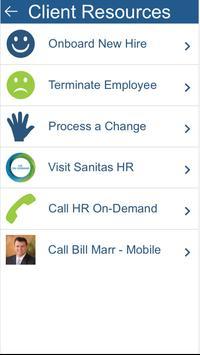 Sanitas Employee Benefits App screenshot 1