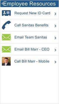 Sanitas Employee Benefits App screenshot 2