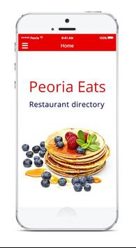 Peoria Eats poster