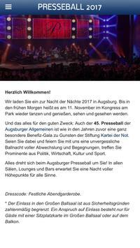 Presseball Augsburg 2017 apk screenshot