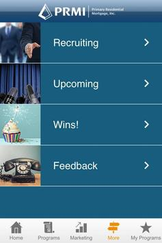 PRMI Marketing apk screenshot