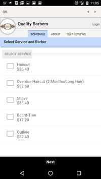 Quality Barbers (NEW) apk screenshot