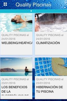 QUALITY PISCINAS poster