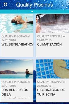 QUALITY PISCINAS apk screenshot
