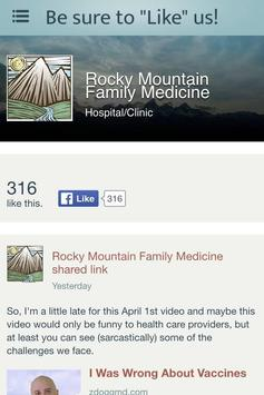 Rocky Mountain Family Medicine screenshot 3