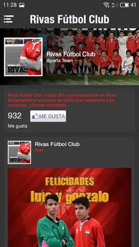 Rivas F.C (Rivas Fútbol Club) apk screenshot