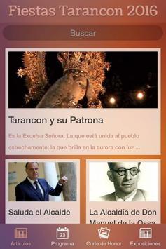 Tarancon en Fiestas 2016 poster