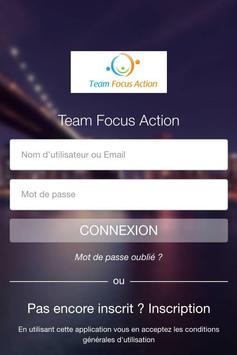 Team Focus Action poster