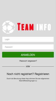 Team Info poster