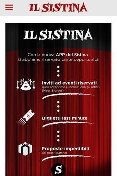 Teatro Sistina poster