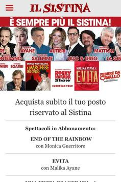 Teatro Sistina screenshot 1