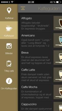 Kaffeguiden apk screenshot