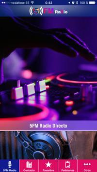 5FM Radio poster