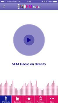 5FM Radio apk screenshot