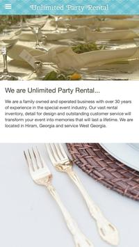 Unlimited Party Rental screenshot 5