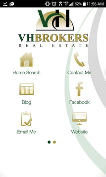 VH Brokers Real Estate poster