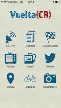 Vuelta CR poster