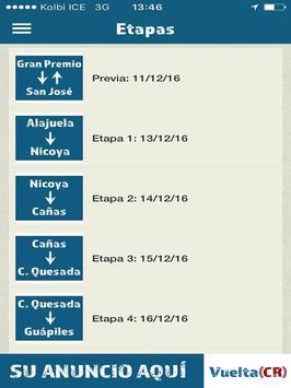 Vuelta CR screenshot 5