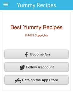 Best Yummy Recipes apk screenshot