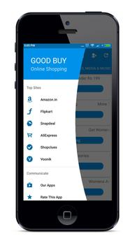 Good Buy All in One Online Shopping App poster