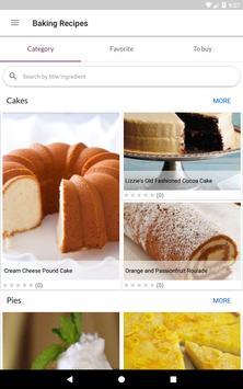 Baking Recipes स्क्रीनशॉट 12