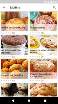 Baking Recipes स्क्रीनशॉट 1