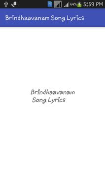 Brindhaavanam Songs Tml poster