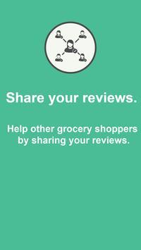 Grocery Reviews - GoodFoods apk screenshot