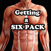 six pack daily workout program icon