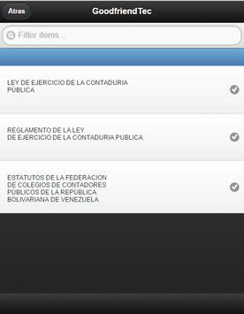 Venezuela Accountants Act apk screenshot