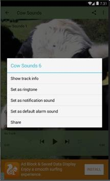 Cow Sounds Lite apk screenshot