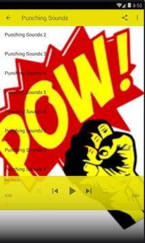 Punching Sounds Lite screenshot 2