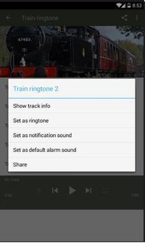 Train ringtone Lite screenshot 3