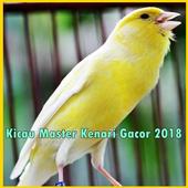 Kicau Master Kenari Gacor 2018 icon