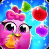 Chicken Fruit Splash - Line Match 3 иконка