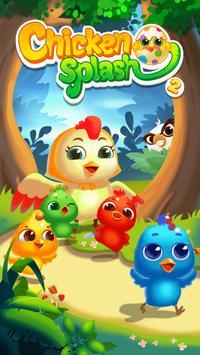 Chicken Splash 2 - Collect Eggs & Feed Babies apk screenshot