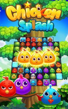 Ayam Splash:Telur Penyelamatan screenshot 5