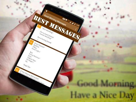 Good Morning Messages apk screenshot