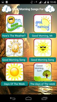 Good Morning Songs For Kids apk screenshot