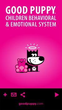 GOOD PUPPY Children Behavioral System Catalog poster