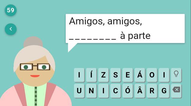 Ditados do Brasil apk screenshot