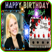 Birthday Frame Happy Birthday photo Frames icon